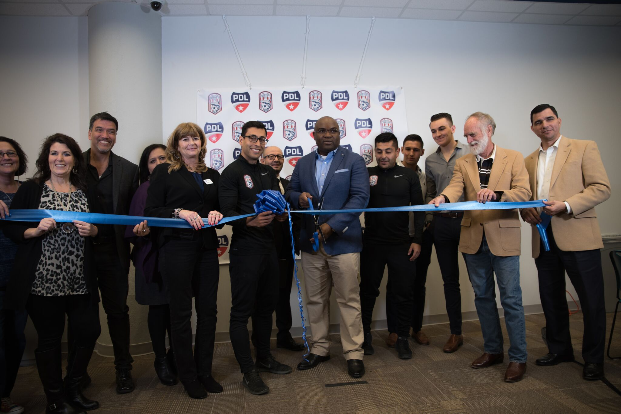 Corpus Christi FC Hosts Its Official Launching and Ribbon Cutting Ceremony