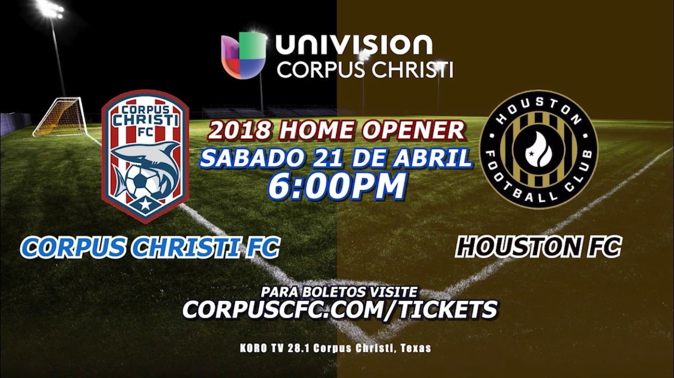 Univision 28 Corpus Christi shows CCFC the love with a promotional deal