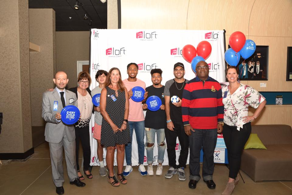 CCFC and Aloft Hotel Host Special  Fundraiser for CASA of the Coastal Bend