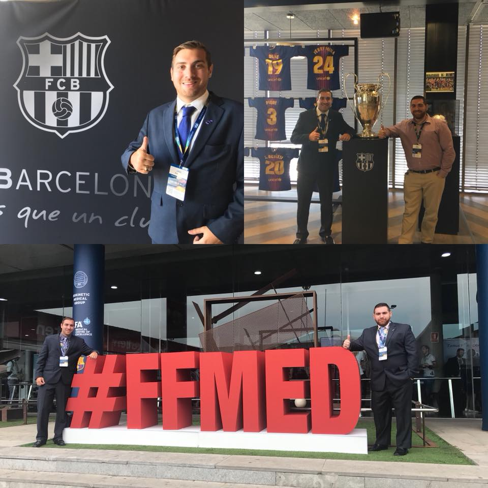 Corpus Christi FC Team Doctors Speak at Elite FIFA Medical Conference in Barcelona, Spain