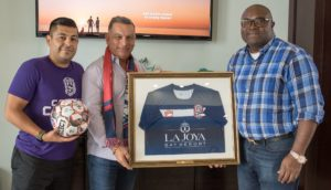Corpus Christi Fc Honors Its 2018 Season Sponsor Lajoya Bay Resort