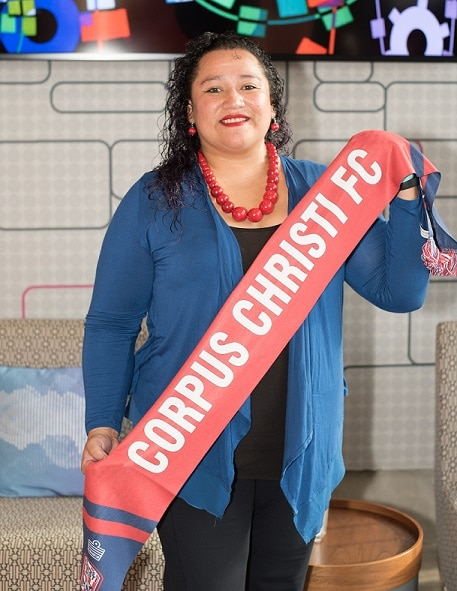 "Corpus Christi Futbal Club ""THE SHARKS"" Appoints Patricia Rodriguez as its new Director of Marketing & Business Development"